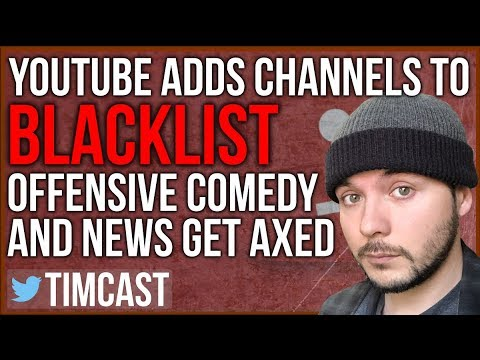 Youtube Blacklists Offensive Comedy and News Creator - The Youtube Purge Redux