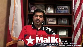 Nasir Malik - Republican for Justice of the Peace - Precinct 4 Place 2 - HAR