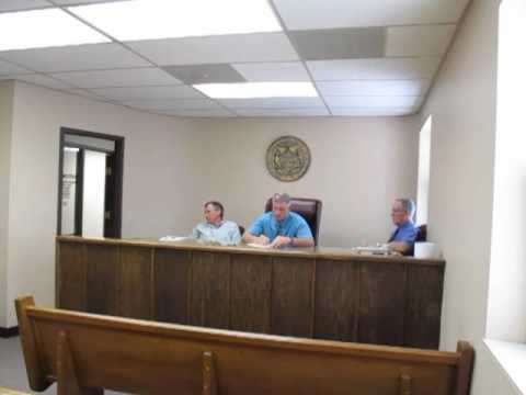 Lincoln County Commission Mo Meeting With Sheriff Krigbaum