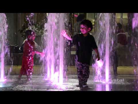Square One Shopping Centre, Mississauga, Canada - Crystal Fountains