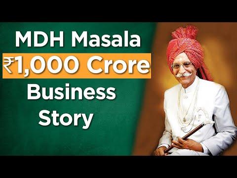 MDH Masala Story - Entrepreneurial Journey Of Mahashay DharamPal