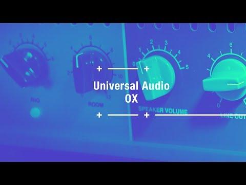 OX de Universal Audio: la config de studio ultime