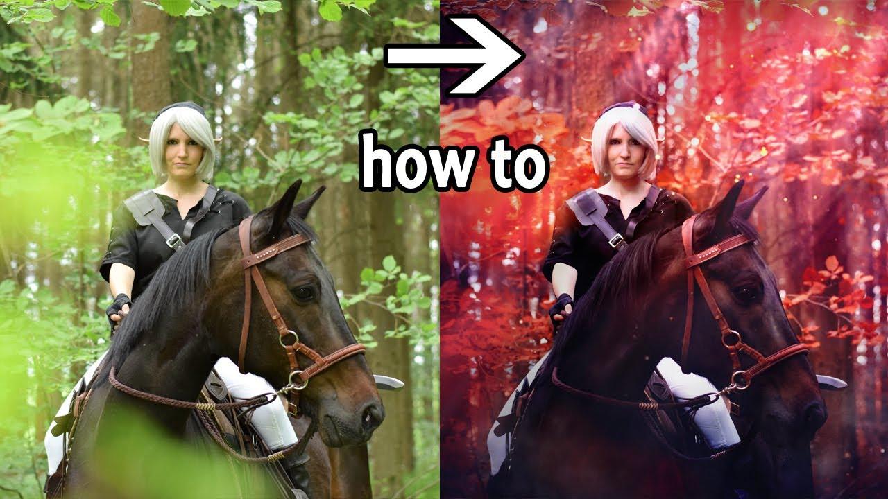 [HOW TO EDIT] Dark Link & Horse -Shooting
