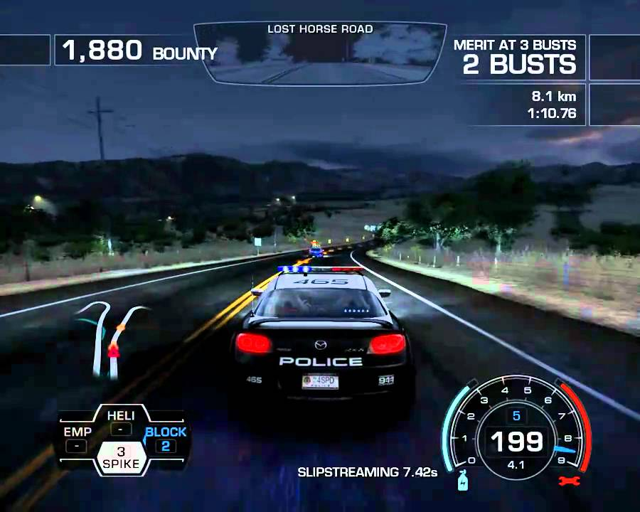 need for speed hot pursuit 2010 mazda rx8 - youtube