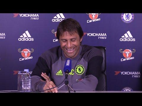 Antonio Conte Full Pre-Match Press Conference - Swansea City v Chelsea