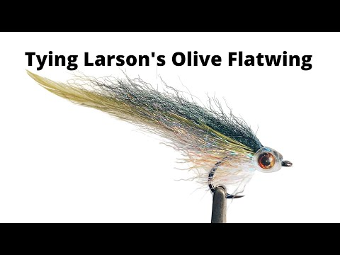 Fly Tying Flatwing Flies For Sea Run Cutthroat & Coho In Puget Sound Saltwater