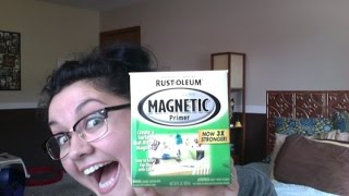 Magnetic paint: Pros, cons and tips!