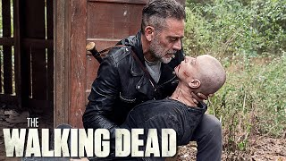 Negan Tricks Alpha In The Walking Dead Season 10 Episode 12