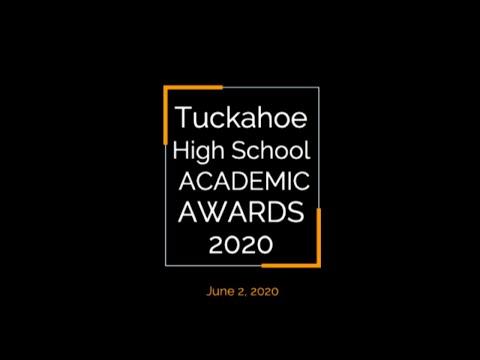 Tuckahoe High School Academic Awards 2020