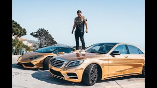Risky Ricky Gold Cars over $300k
