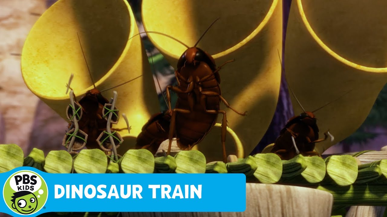 DINOSAUR TRAIN | The Cockroaches Song! | PBS KIDS - YouTube
