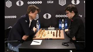 Magnus Carlsen trolling  Maxime lagrave in world blitz championship