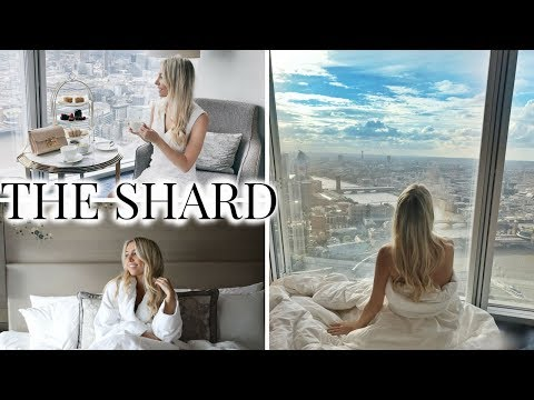 A LUXURY NIGHT AT THE SHARD SHANGRI-LA HOTEL LONDON VLOG | Scarlett London