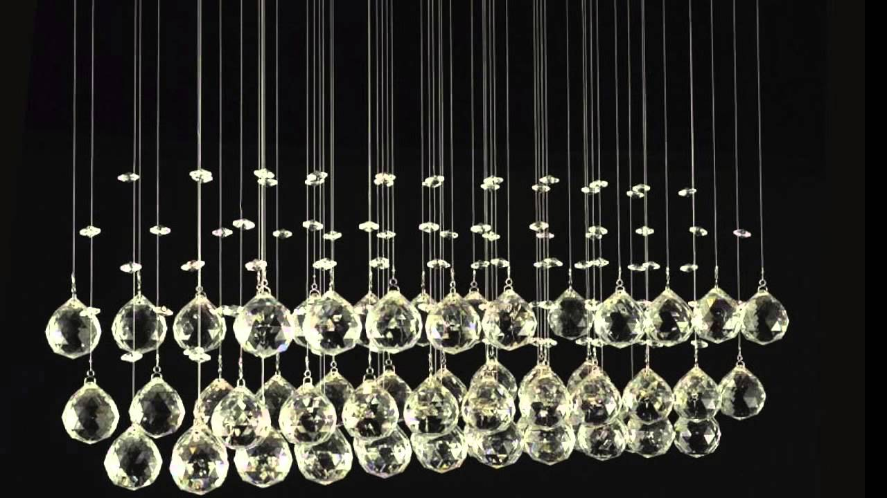 Glamorous crystal ceiling lights youtube youtube premium aloadofball Image collections