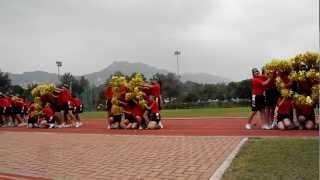 香港培道中學 2011-2012年度 陸運會中六級巘社啦啦隊