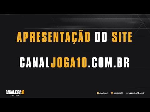 Apresentacao do SITE do CANAL JOGA10 E-sports - www.canaljoga10.com.br
