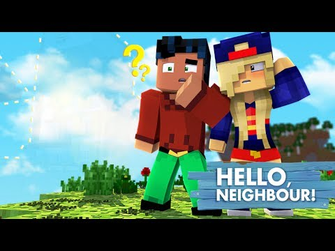 Hello Neighbor House is GONE?!?! - Superhero minecraft Roleplay