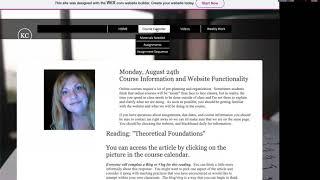 English333:  Week1 weekly work and website