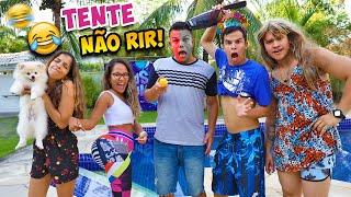 TENTE NÃO RIR! - MUITO ENGRAÇADO! - (MALUQUICE) - KIDS FUN