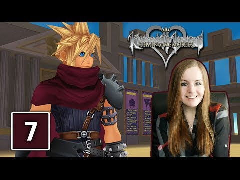 OLYMPUS COLISEUM | Kingdom Hearts Chain Of Memories Gameplay Walkthrough Part 7