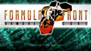 Armored Core Formula Front - Central Menu