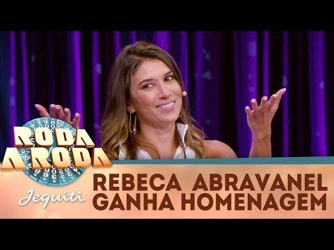 Rebeca Abravanel Recebe Retrospectiva Surpresa | Roda A Roda Jequiti (28/12/17)