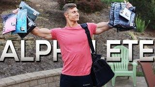 ALPHALETE CLOTHING HAUL | 4K Gym Footage