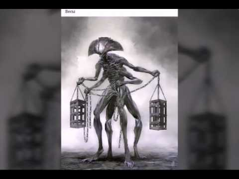 Знаки зодиака в виде монстров.