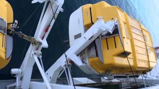 AIDA DIVA Rettungsboot Wasserung