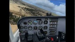 Flight Simulator FSX Video - Take Off and Landing from Craig Airport - KCRG Jacksonville,FL