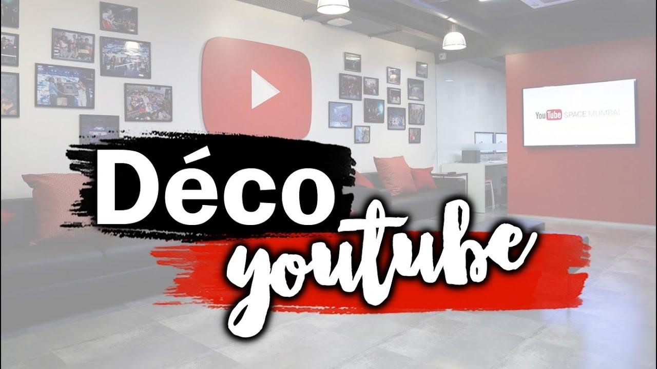 COMMENT CRÉER UN DÉCOR YouTube ?