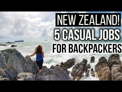 5 EASY WAYS TO FIND WORK IN NEW ZEALAND!   Casual Backpacker Jobs And Tips.