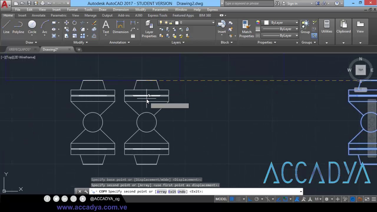 02 autocad piping layout 01 [ 1280 x 720 Pixel ]