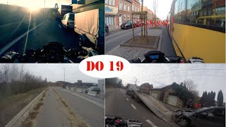 DO on a CB500F (19) SALE ROUTE/BAD ROAD, BAD DRIVER, CRAZY,