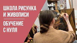 Курсы рисования для взрослых и детей в Москве Как научиться рисовать с нуля Художественная школа 12+