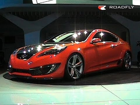Roadfly Hyundai Concept Genesis Coupe Youtube