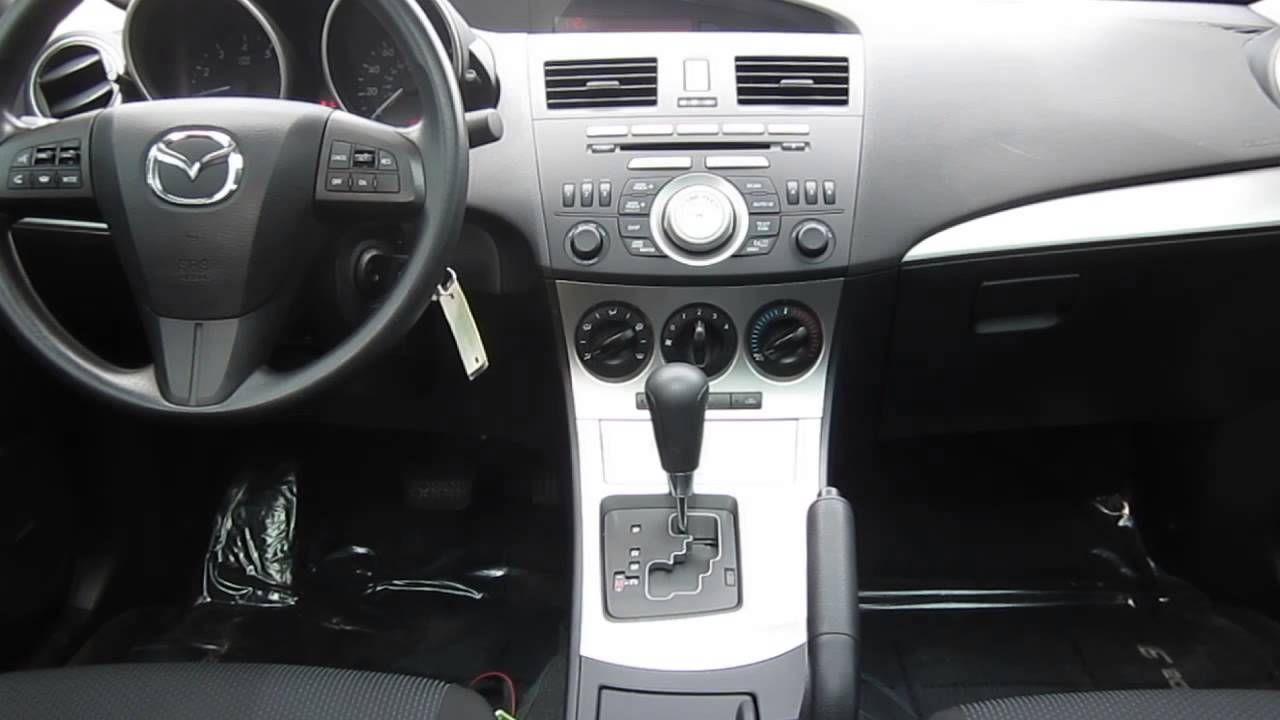 2010 mazda 3 gunmetal blue stock 606841 interior youtube