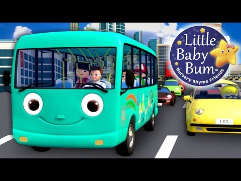 Wheels On The Bus | Part 10 | Little Baby Bum | Nursery Rhymes for Babies | Videos for Kids