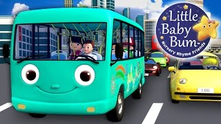 Wheels On The Bus | Part 10 | Nursery Rhymes | By LittleBabyBum