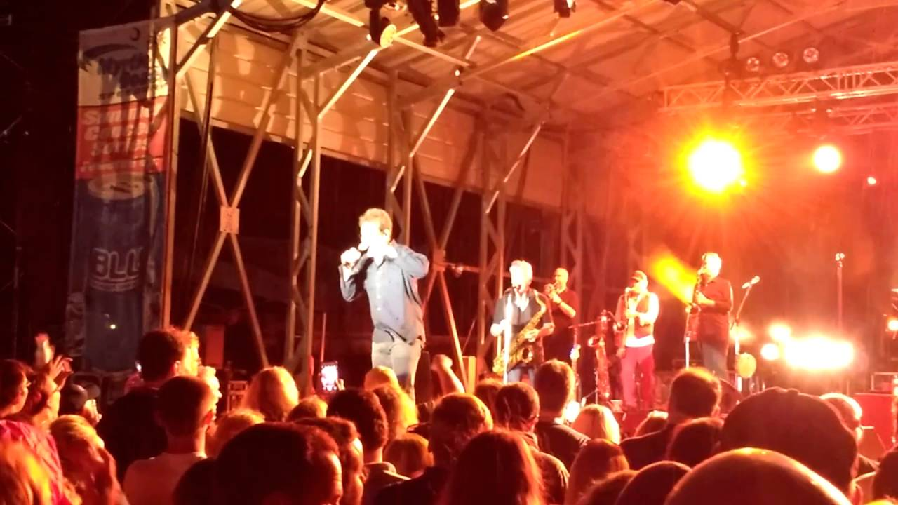 Huey Lewis And The News Back In Time Myrtle Beach Sdway Sc 4