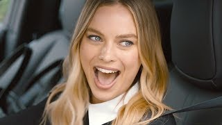 Margot Robbie Hot Commercial 2018 New Nissan Leaf Electric Car Commercial 2018 World Record CARJAM