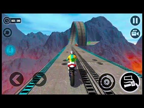 Juego De Motos Para Niños | Impossible Motor Bike Tracks