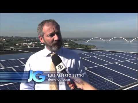 Microgeração de Energia Solar no Brasil