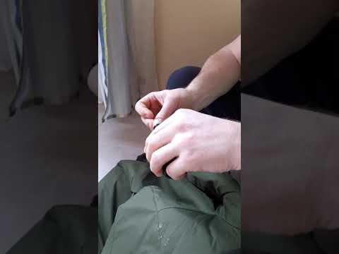 Монтажная пена!Чем отмыть с одежды.Результат сразу.