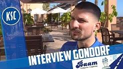 KSC-Neuzugang Jerôme Gondorf im Interview