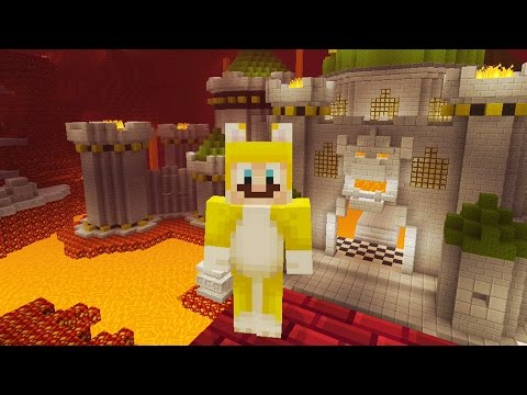 Minecraft: Super Mario Edition - Bowser's Castle {8}
