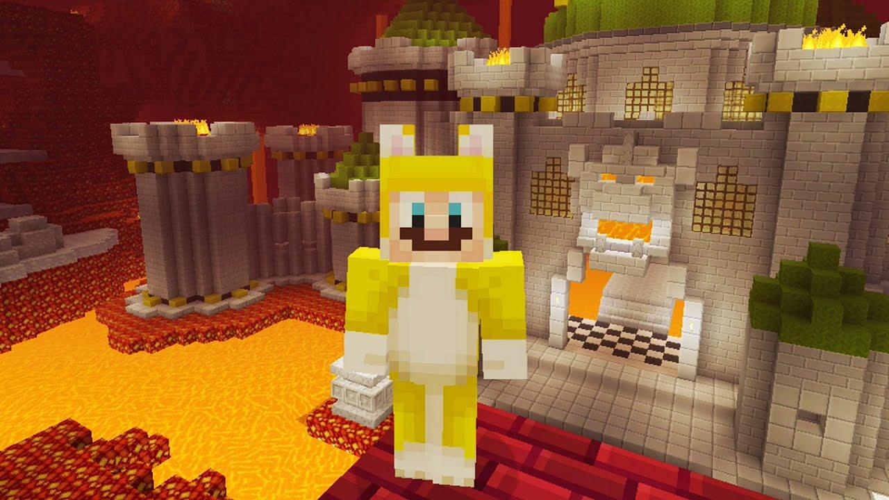 Minecraft Super Mario Edition Bowser S Castle