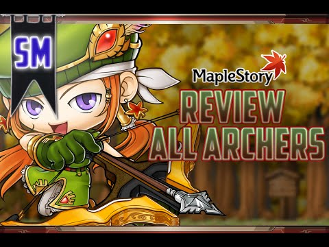 Reviewing Every Archer Class in MapleStory!