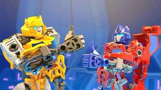 Трансформеры конструктор ботс игрушки. Мультики про роботов СМЕШИЛКИ для детей