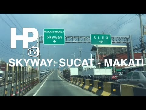 Skyway Sucat to Makati Drive by HourPhilippines.com